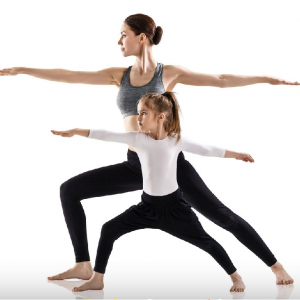 Yoga for parents and children, Feb 8th 10:30-11:30